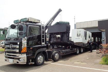 搬出・積込・輸送費は当社がご負担致します| 中古機械・設備買取の買取高価買取カサイマシンセールス